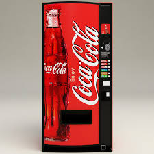Coke Vending Machine Models Awesome Coca Cola Vending Machine 48d Model