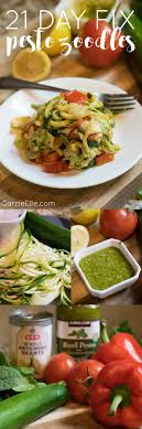 21 day fix zoodles recipe