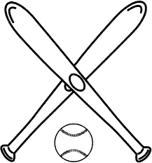 Small Picture Baseball Bat Coloring Page Coloring Pages Free blueoceanreefcom