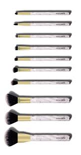 your new marble brushes in this matching marble brush holder