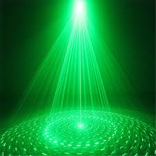 aucd 20 pattern red green laser projector 3w blue led background mixing light dj ktv show party wedding stage lighting z20rg in stage lighting effect from
