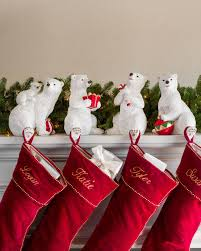 Polar Bear Family Stocking Holder Main