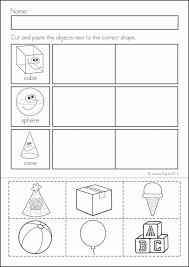 Kindergarten Shape Worksheets - Criabooks : Criabooks