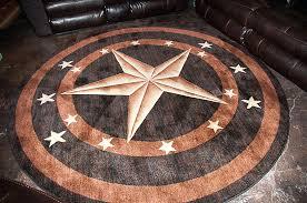 texas star rug western star rug round star rug 1 copy rustic texas star rugs