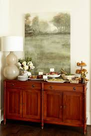 How To Set Up A Buffet On A Dining Table Or Sideboard How To - Buffet table dining room