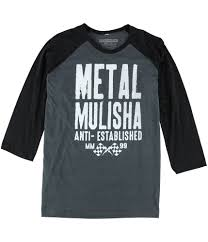 Tags Weekly Metal Mulisha Mens Corded Graphic T Shirt