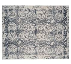 pottery barn wool rugs printed rug gray cleaning instructions toxic