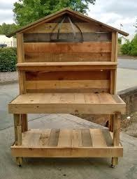 garden workbench an garden work bench that i made out of pallet wood garden shed workbench garden workbench
