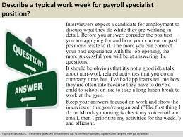Payroll Specialist Job Description Sarahepps Com