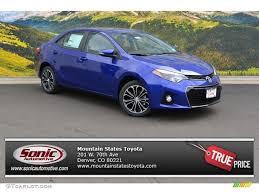 2016 Blue Crush Metallic Toyota Corolla S Plus #106919935 ...