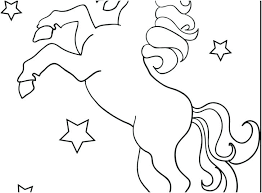 Free Unicorn Coloring Pages Pdf Cute Printable For Preschoolers
