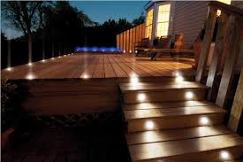outdoor stairs lighting. Image Of: Outdoor Stair Lighting Deck Stairs D