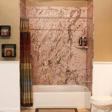 flexstone royale 60 x 36 sea foam bathtub shower wall surround