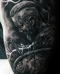 60 Ragnar Lothbrok Tattoo Designs For Men Vikings Ink Ideas