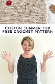 Cotton Crochet Patterns Custom Inspiration Ideas