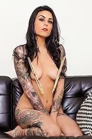 Tattooed Tied Up Naked