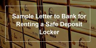 170697 1 Sample Letter To Bank For Renting A Safe Deposit Locker Jpg