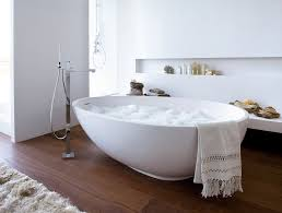 ... Bathtubs Idea, Extra Large Bathtubs Cheap Bathtubs Chic Bathroom With  Large Freestanding Tub In Oval ...