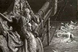 the rime of the ancient mariner lent a matter of life in death mariner watersnakes