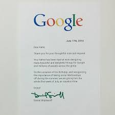 A Girl Wrote This Letter To Her Dad S Boss At Google And Google