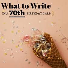 But it's about a hundred times more fun when it happens on your 40th. 70th Birthday Wishes Sayings And Quotes To Write In A Card Holidappy