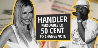 The twitter back and forth between the two, who once dated back in 2010 and have been on good terms since, began on monday after 50 cent shared a. Chelsea Handler Entices Ex 50 Cent After Trump Tweet Actors Are Idiots