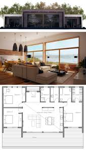 Modern Three Bedroom House Plans 17 Best Ideas About Contemporary Home Plans On Pinterest