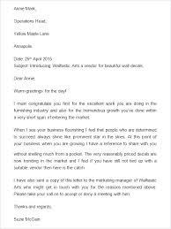 Business Letter Template Sample Putasgae Info