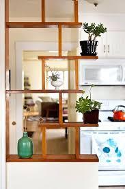 mid century modern shelf unit wall decor