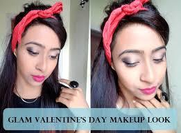 valentine makeup tutorial indian skin step by step