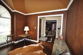 Leather Faux Finish  Traditional  Living Room  Dallas  By Faux Leather Paint