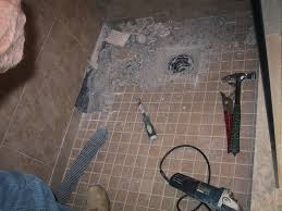 Repair Bathroom Floor Zciiscom Floor Tile For Shower Stall Shower Design Ideas And