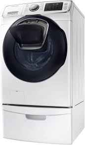 samsung front load washer pedestal.  Washer Samsung WF45K6500AW  Shown With Pedestal Sold Separately In Front Load Washer D