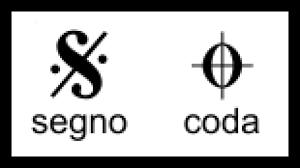 You can easily place d.s. Reading Coda Signs Segnos Music Symbols Violin Sheet Music Italian Phrases