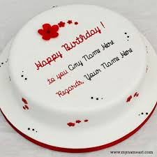 Write Name On Cake And Download For Friend