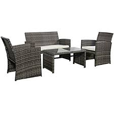 Amazon TraXion 4 210 Outdoor Patio Furniture Set Sunset