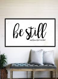 be still and know fixer upper home decor gift by wallsofwisdomco on bible verses about love wall art with farmhouse love d cor modern farmhouse wall decor gift for her