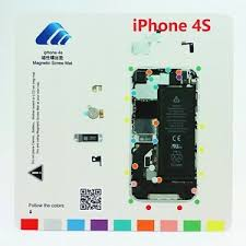 Details About Iphone 4s Magnetic Screw Chart Mat Repair Professional Guide Pad Tools