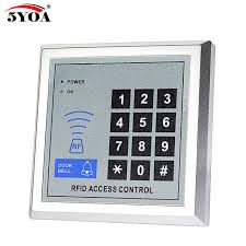 high security door locks rfid access control system m1 card reader lock