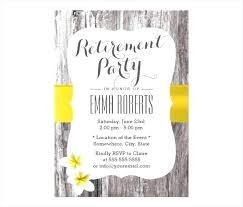 Party Invitation Template Word Free Free Retirement Party Invitations Templates Cryptoforpak