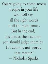 Actions Speak Louder Than Words Quotes