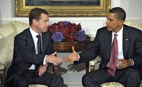 Dmitry Medvedev met with American President Barack Obama • President of Russia