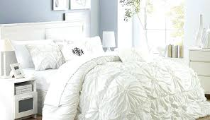 black and white modern crib bedding contemporary ruffle frilly waffle comforter sheets comforters twin home improvement