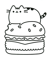 Coloring Page Printable 9ncm Pusheen Coloring Pages Printable 20