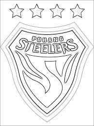Small Picture Steelers Coloring Pages fablesfromthefriendscom