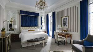 New York City Bedroom Luxury Hotel In New York City The St Regis New York