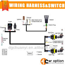 universal wiring harness include switch kit car auto fog lights universal wiring harness include switch kit car auto fog lights lamp wire led off road wiring