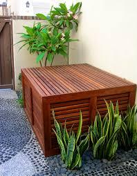 Lattice Air Conditioner Screen Wooden Lattice Air Conditioner Screen So Thats Cool Ac Air