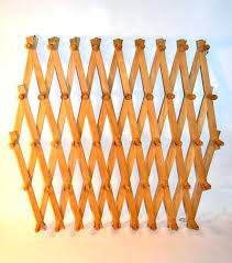 accordion wall rack elegant the ultimate peg rack wooden accordion wall by for coat ideas 9