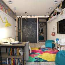 Teen Room Designs: Funky Room Interior - Teen Room Decor